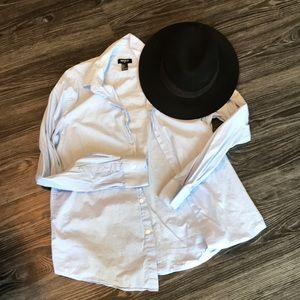 Baby blue button down!